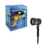 Pack 2 Proyectores Luces Led Movimiento Navidad Laser