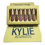 8 Set Labiales Matte Liq. De 6 Colores Kylie - Dorada 33015