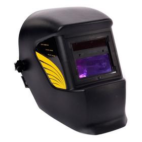 Mascara De Soldar Fotosensibe Con Panel Solar Casco Metinca