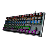 Teclado Gamer Mecanico Imice Mk-x60 Iluminado Switch Azul
