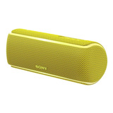 Parlante Bluetooth Sony Xb21 Extra Bass Amarillo