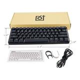 Gk61 Kit Personalizado De Teclado Intercambiable 60% Rgb Caj