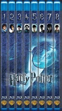 Saga Harry Potter Bluray Latino Envio Incluido