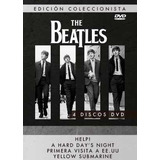The Beatles Pack (4 Discos) - Dvd
