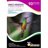 Vinilo Tornasol Adhesivo Holografico Efecto Punto A4/10hojas