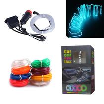 Luz Led Flexible De Tira Para Autos Colores 63917 / Fernapet
