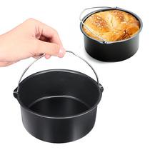 1.8l Air Fryer Bread Baking Basket Cake Pan Hot Air Oven Acc
