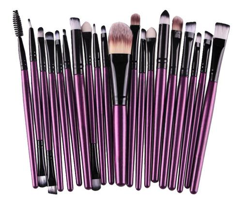 25x Pincel De Maquillaje Brocha De Cosméticos Cepillo De