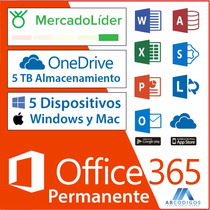 Microsoft Office 365 Windows & Mac | Licencia De Por Vida