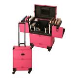 Maleta Para Manicure Y Maquillaje Rosada 13034