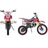 Moto Enduro 125cc 4velocidades Pit Bike Motor 4 Tiempo