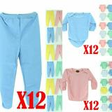 Super Pack X12 Panty Body Y Camisetas Para Bebé