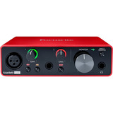 Interfaz De Audio Usb Focusrite Scarlett Solo 3ra Gen.