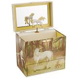 Caja De Joyería De La Música Del Unicornio De Enchantmints