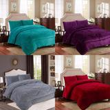 Ofertas! Cubrecama Cobertor Con Chiporro 2 Plazas Color Liso
