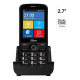 Telefono Celular Adulto Smart Microlab Rojo (redes Sociales)