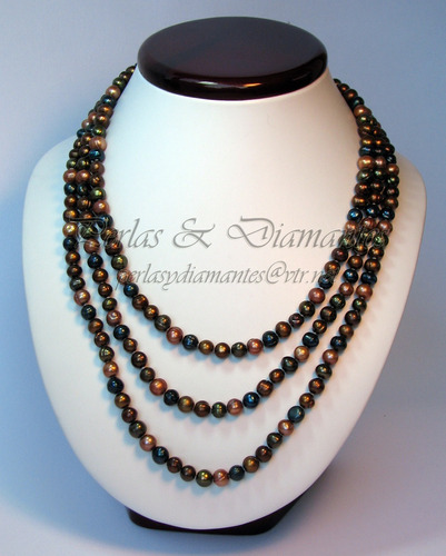 9a4c87ea3728 Collar Perlas Cultivadas Irregulares 160cms De Largo
