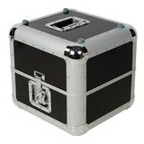 Caja De Aluminio Contenedora Para 100 Vinilos Envio Gratis