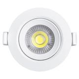Foco Led Embutido 7w Direccional Luz Calida 50011/ Fernapet