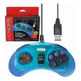 Retro-bit Sega Genesis - Controlador Usb Para Sega Genesi