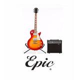 Pack Guitarra Eléctrica. Epic + Acc Deluxe, Despacho Gratis