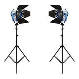 Kit Iluminacion Fresnel, Fresnel 650, Kit De Luces Cine