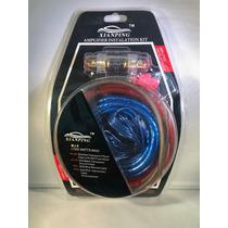 Kit Cables Para Amplificador Y Subwoofer