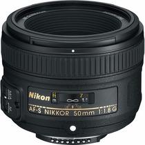 Lente Nikon Nikkor Af-s 50mm F/1.8g Nuevo   Garantía