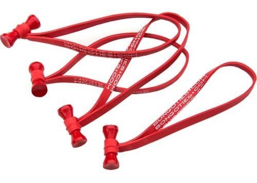 Bongo Ties Red Paquete 10 Unidades