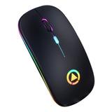 Mouse Gamer Ml3-151 Inalámbrico Recargable Agarre Ergonomico
