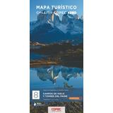 Mapa Chiletur Copec  Area 8: Campo Hielo, Torres Del Paine