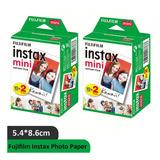 40 Fotografías Fujifilm Instax Mini Iso 800 Cartucho De Tin