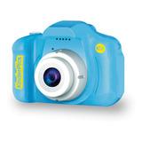 Cámara Digital Ev Mini-flex Portátil Para Niños Azul