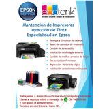 Reparación De Impresoras Epson A Domicilio