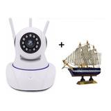 Camara Robotizada 3 Antenas Ip De Seguridad Cctv Hd