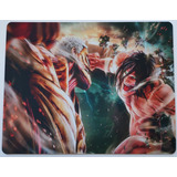 Mouse Pad Personalizado Pc Notebook Gamer Attack On Titan