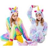 Pijamas Enteros Kigurumi Unicornio De Arcoiris Envio Gratis