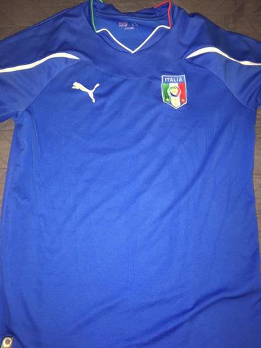 Camiseta Selección Italia Mundial 2016 Usada de9c8fb49974f