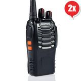 2 Radio Transmisor Walkie Baofeng 888s Envio Gratis Metinca