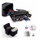 Lápices Marcadores 80 Colors Touchfive Original Envío Gratis