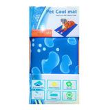 Manta Gel Frío Fría Para Mascotas Md:50x65 Cm Perro Gato