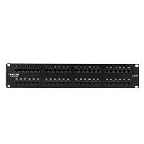 Black Box Cat6 Value Line Patch Panel, 48-port, 2u - 48 X...