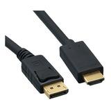 Cable Displayport A Hdmi 1.8 Mts Macho Macho