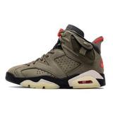 Nike Air Jordan 6 Medium Olive Cn1084-200