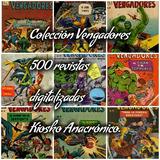 Vengadores 500 Revistas Antiguas Digitalizadas Envío Gratis