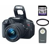Canon T5i Kit Con Lente 18-55 + 16gb + Filtro + Control