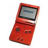 Espectaculares Game Boy Advance Sp-001 Roja+juego Original