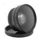 Gran Angular 55mm Lente + Macro, Para Nikon / Sony