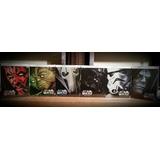 Star Wars Colección 1-6 (bluray, Steelbook)