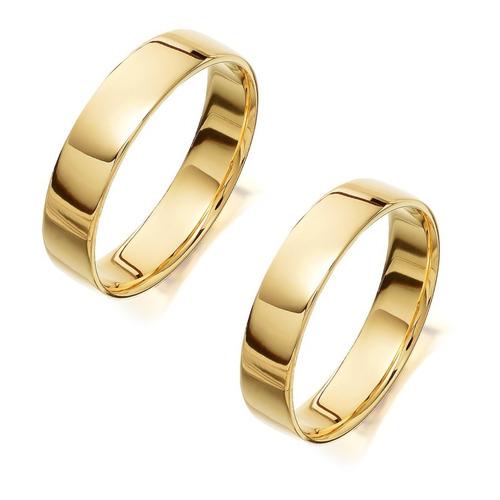 9102d42af741 Argollas De Matrimonio Oro 18 Kilates 6 Gramos